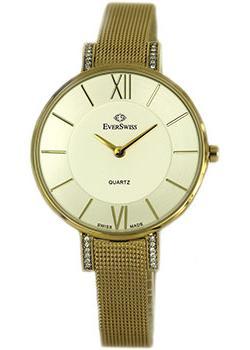 Швейцарские наручные  женские часы EverSwiss 2787-LGS. Коллекция Classic