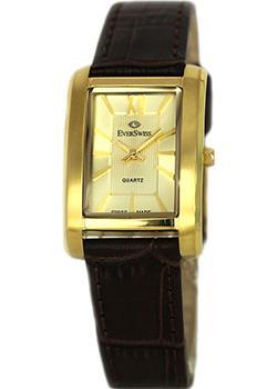 Швейцарские наручные  женские часы EverSwiss 5747-LLC. Коллекция Classic
