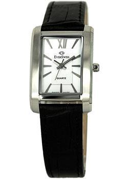 Швейцарские наручные  женские часы EverSwiss 5747-LZS. Коллекция Classic