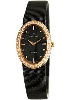 Швейцарские наручные  женские часы EverSwiss 9832-LTRB. Коллекция Classic