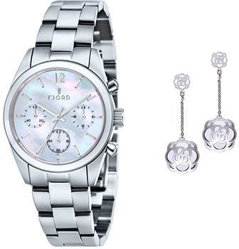 fashion наручные  женские часы Fjord FJ-SET2-02. Коллекция INGEGERDR
