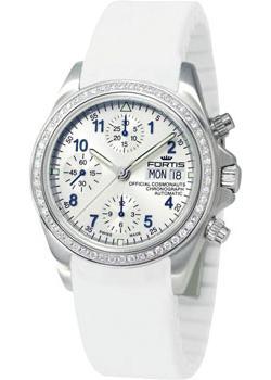 Швейцарские наручные  женские часы Fortis 630.14.92M. Коллекция Cosmonautis