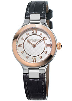 Швейцарские наручные  женские часы Frederique Constant FC-200WHD1ER32. Коллекция Delight
