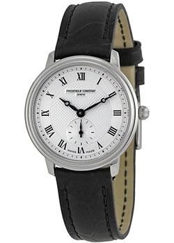 Швейцарские наручные  женские часы Frederique Constant FC-235M1S6. Коллекция Classics