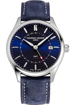 Швейцарские наручные  мужские часы Frederique Constant FC-252NS5B6. Коллекция Classics