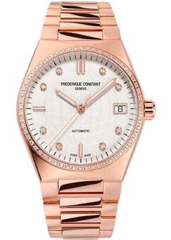 Швейцарские наручные  женские часы Frederique Constant FC-303VD2NHD4B. Коллекция Highlife Automatic