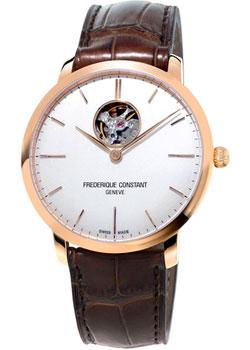 59790de05502 Швейцарские наручные мужские часы Frederique Constant FC-312V4S4. Коллекция  Heart Beat