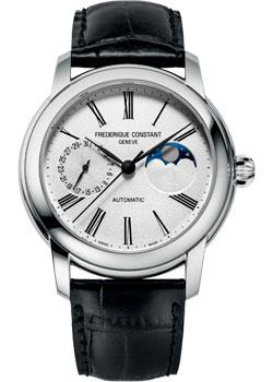 Швейцарские наручные  мужские часы Frederique Constant FC-712MS4H6. Коллекция Classic Moonphase Manufacture