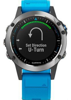 мужские часы Garmin 010-01688-40. Коллекция Quatix 5
