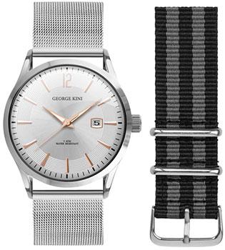 fashion наручные  мужские часы George Kini GK.11.1.1R.21. Коллекция Gents Collection.