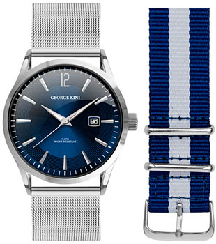 fashion наручные  мужские часы George Kini GK.11.1.3S.21. Коллекция Gents Collection.