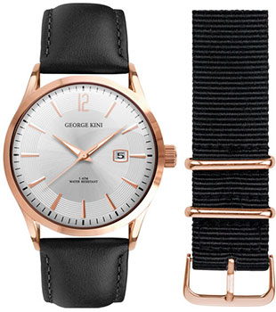 fashion наручные  мужские часы George Kini GK.11.3.1R.16. Коллекция Gents Collection.
