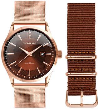 fashion наручные  мужские часы George Kini GK.11.3.6R.22. Коллекция Gents Collection.