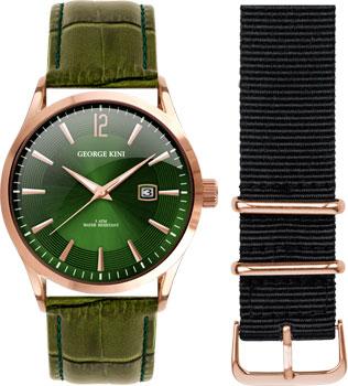 fashion наручные  мужские часы George Kini GK.11.R.5R.1.5.0. Коллекция Gents Collection.