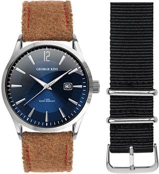 fashion наручные  мужские часы George Kini GK.11.S.4S.3.3.0. Коллекция Gents Collection.