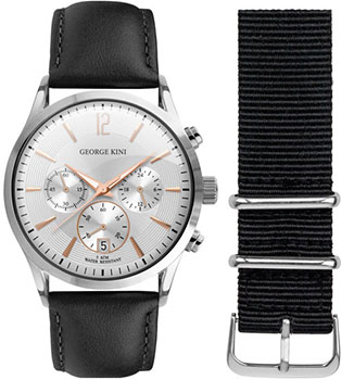 fashion наручные  мужские часы George Kini GK.12.1.1R.16. Коллекция Gents Collection.