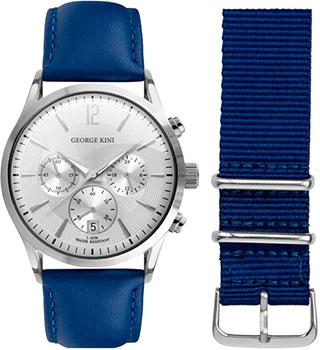 fashion наручные  мужские часы George Kini GK.12.1.1S.17. Коллекция Gents Collection.