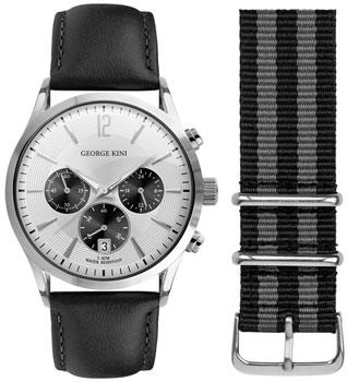 fashion наручные  мужские часы George Kini GK.12.1.1SB.16. Коллекция Gents Collection.