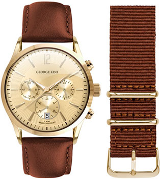 Наручные  мужские часы George Kini GK.12.2.4Y.112. Коллекция Gents Collection