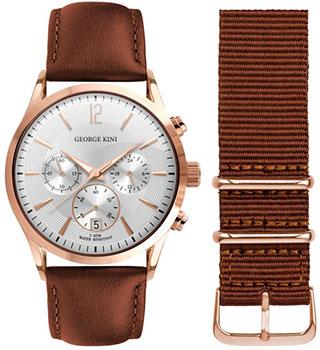 fashion наручные  мужские часы George Kini GK.12.3.1R.112. Коллекция Gents Collection.