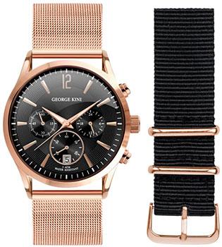 Наручные  мужские часы George Kini GK.12.3.2R.22. Коллекция Gents Collection