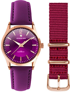 fashion наручные  женские часы George Kini GK.23.3.10R.114. Коллекция Ladies Collection