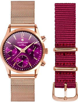 fashion наручные  женские часы George Kini GK.24.3.10R.22. Коллекция Ladies Collection