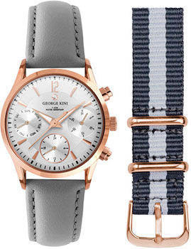 fashion наручные  женские часы George Kini GK.24.3.1R.113. Коллекция Ladies Collection