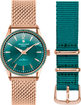 fashion наручные  женские часы George Kini GK.25.R.11R.2.R.11. Коллекция Ladies Collection