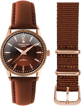 fashion наручные  женские часы George Kini GK.25.R.3R.1.3.3. Коллекция Ladies Collection