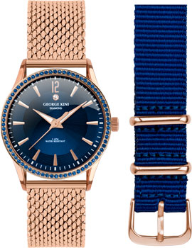 fashion наручные  женские часы George Kini GK.25.R.4R.2.R.4. Коллекция Ladies Collection