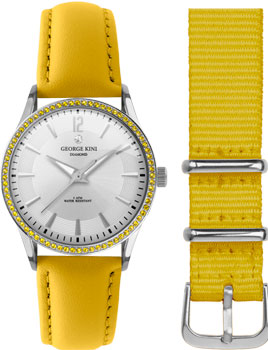 fashion наручные  женские часы George Kini GK.25.S.1S.1.14.14. Коллекция Ladies Collection