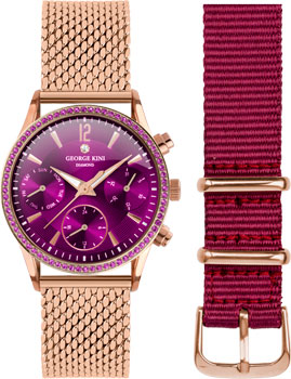 fashion наручные  женские часы George Kini GK.26.R.10R.2.R.10. Коллекция Ladies Collection