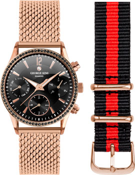 fashion наручные  женские часы George Kini GK.26.R.2R.2.R.2. Коллекция Ladies Collection.