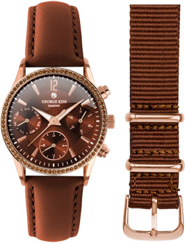 fashion наручные  женские часы George Kini GK.26.R.3R.1.3.3. Коллекция Ladies Collection