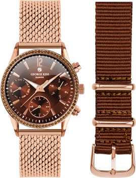 fashion наручные  женские часы George Kini GK.26.R.3R.2.R.3. Коллекция Ladies Collection