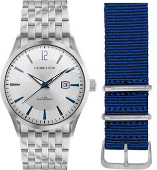 fashion наручные  мужские часы George Kini GK.41.1.1S.1BU.5.S.0. Коллекция Gents Collection.