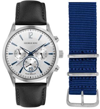 fashion наручные  мужские часы George Kini GK.41.7.1S.1BU.1.2.0. Коллекция Gents Collection.