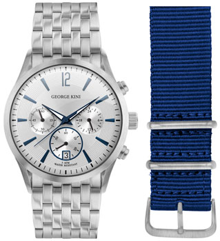 fashion наручные  мужские часы George Kini GK.41.7.1S.1BU.5.S.0. Коллекция Gents Collection.