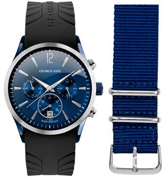fashion наручные  мужские часы George Kini GK.41.7.1SBU.4S.9.2.0. Коллекция Gents Collection.