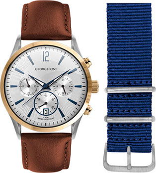 fashion наручные  мужские часы George Kini GK.41.7.1SY.1BU.1.3.0. Коллекция Gents Collection.