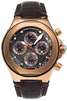 Girard Perregaux Швейцарские наручные  мужские часы Girard Perregaux 90190-52-231-BBED