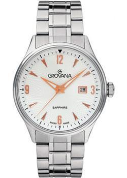 Швейцарские наручные  мужские часы Grovana 1191.1128. Коллекци Traditional