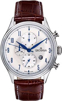 Швейцарские наручные  мужские часы Grovana 1192.9532. Коллекция Chrono