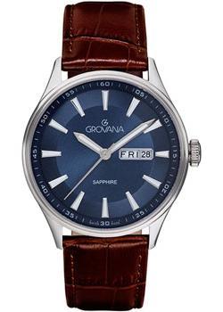 Швейцарские наручные мужские часы Grovana 1194.1535. Коллекция Traditional