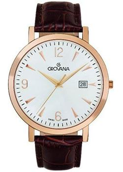 Швейцарские наручные  мужские часы Grovana 1230.1562. Коллекци Traditional