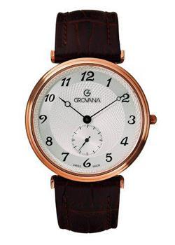 Швейцарские наручные  мужские часы Grovana 1276.5562. Коллекци Traditional