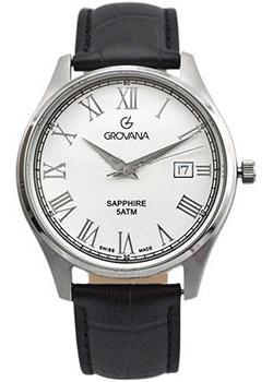 Швейцарские наручные  мужские часы Grovana 1568.1332. Коллекци Traditional