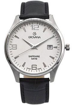 Швейцарские наручные  мужские часы Grovana 1568.1338. Коллекци Traditional