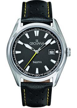Швейцарские наручные  мужские часы Grovana 1584.1538. Коллекци Traditional